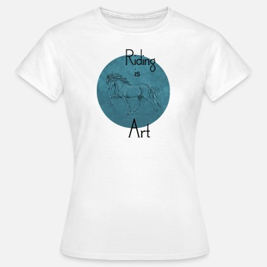 Tölt Tölter Art Blue - Frauen T-Shirt