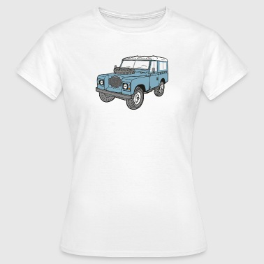 Land Rover Landie 4x4 Off Road Series 3 88 - T-shirt Femme
