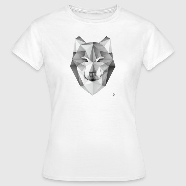 AD Geometric Wolf - Women's T-Shirt