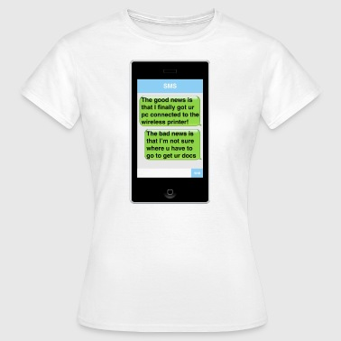 SMS - Printer - Women's T-Shirt