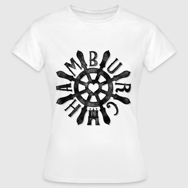 Hamburg RAD#1 - Frauen T-Shirt