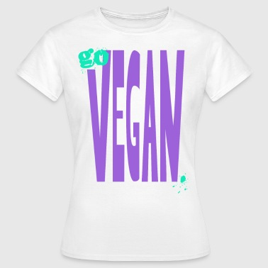 XL-goVEGAN  - Frauen T-Shirt