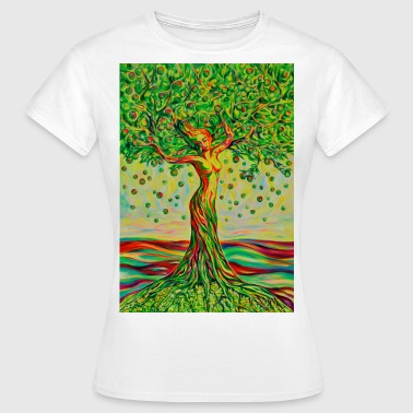 Tree of Life Lebensbaum GREEN APPLE Beauty - Frauen T-Shirt