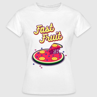 fast fruid - Frauen T-Shirt