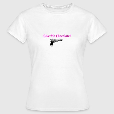 Give Me Chocolate! - Women's T-Shirt