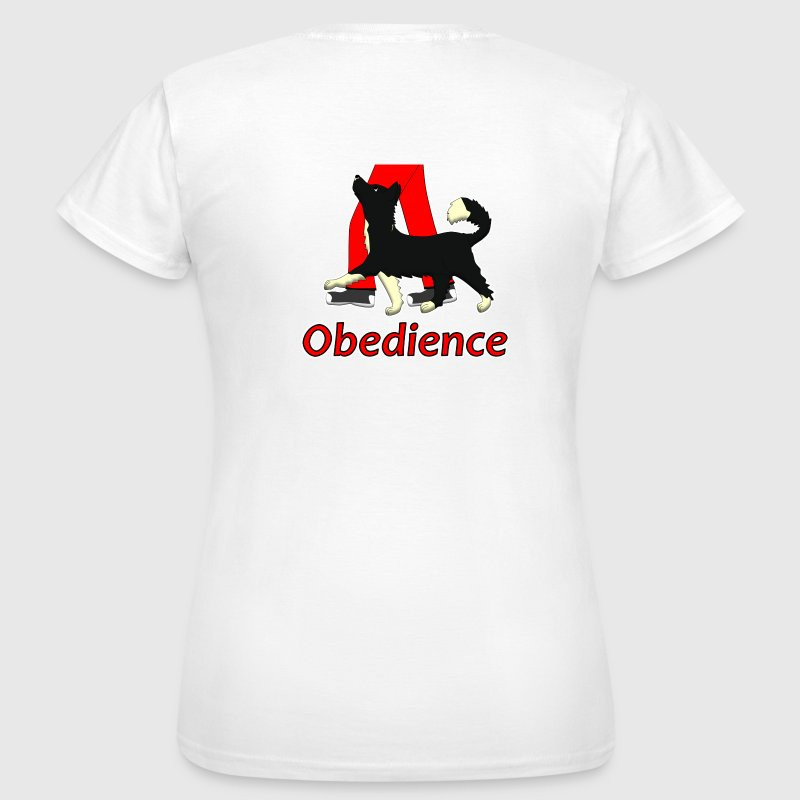 Obedience 1 Border Collie 1 - T-shirt Femme