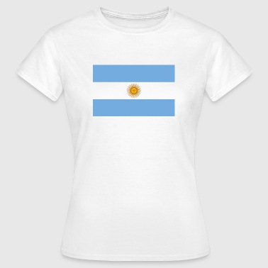 Nationale Argentinas flag - Dame-T-shirt