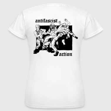 antifascist action - Frauen T-Shirt