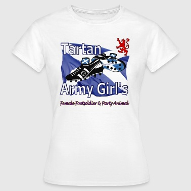 tartan army girls scotland - Women's T-Shirt