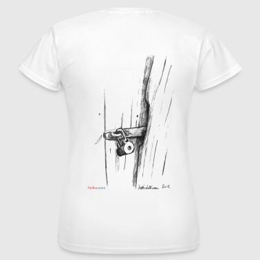 Old lock of shack - Women's T-Shirt