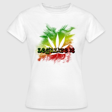 Legalize it - Frauen T-Shirt