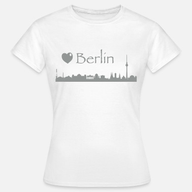 Skyline Berlin Berlin - Frauen T-Shirt