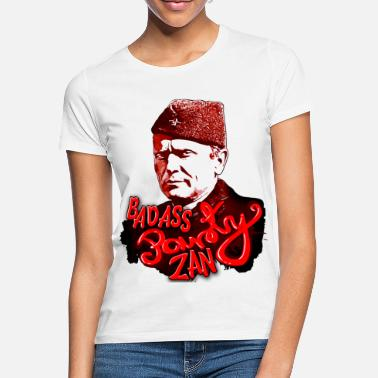 Lenin Josip Broz Tito Badass Party Zan Lustiges T-Shirt - Frauen T-Shirt