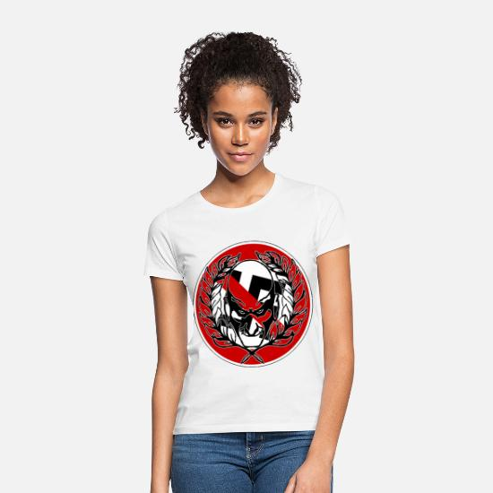 Skinhead T-Shirts - Skinheads against the right - Women's T-Shirt white
