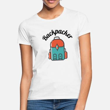 Backpacker Backpacker! - T-shirt dam