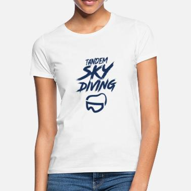 Skydiving Skydiver - Women's T-Shirt