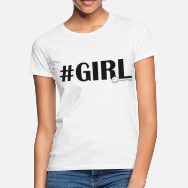 Smileyworld SmileyWorld #Girl - Women's T-Shirt