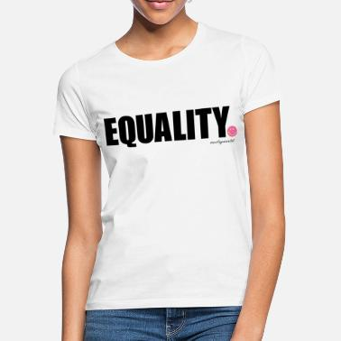 SmileyWorld Equality - Vrouwen T-shirt