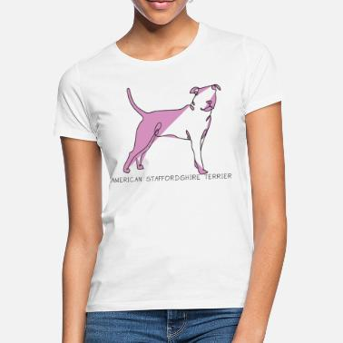 Staffordshire American Staffordshire Terrier - Camiseta mujer