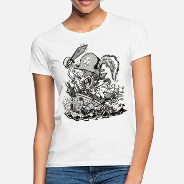 Spongebob Teenagers' Premium Shirt Pirate SpongeBob - Women's T-Shirt