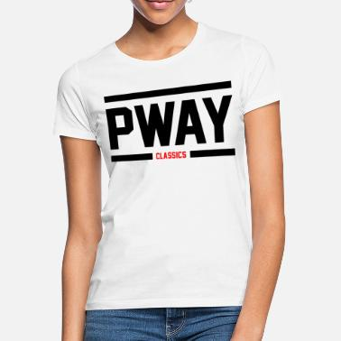 PWAY BlacknRed - Frauen T-Shirt