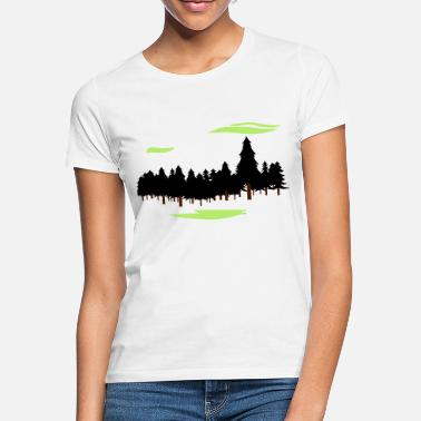 Forest Forest Forest - Women's T-Shirt