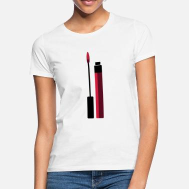 Lipgloss Lipgloss Vektor (Your Color) - Frauen T-Shirt