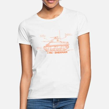 World of Tanks M4 Sherman - Women's T-Shirt