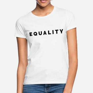 Feminist THE FASHION TEE - EQUALITY BLACK - Frauen T-Shirt