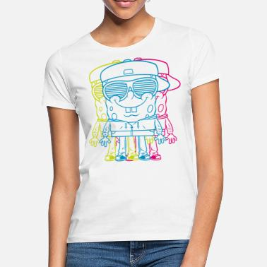 Spongebob Teenagers' Premium Shirt SpongeBob Triple - Women's T-Shirt