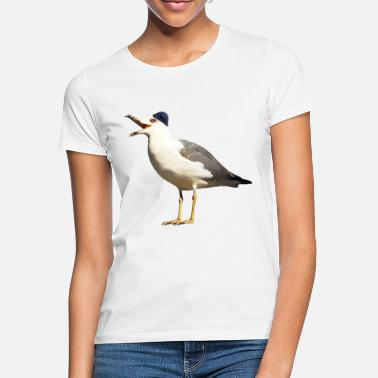 Seagull with cap - Women's T-Shirt