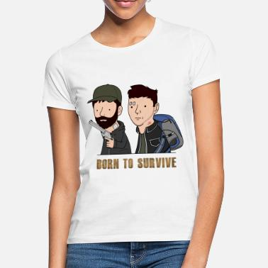 Laink Wankul - Born to survive - T-shirt Femme