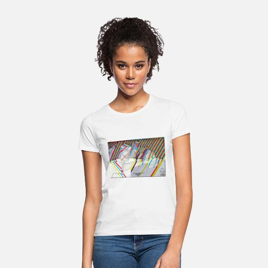 Twister T-Shirts - TWIST - Women's T-Shirt white