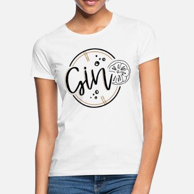 Duo GIN / Gin & Tonic Duo - Vrouwen T-shirt
