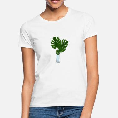Leaf Monstera / palm leaf - Women's T-Shirt