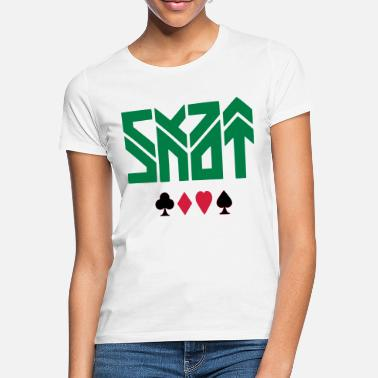 Playing Card SKAT - CARD PLAY - CARD PLAYING - Women's T-Shirt