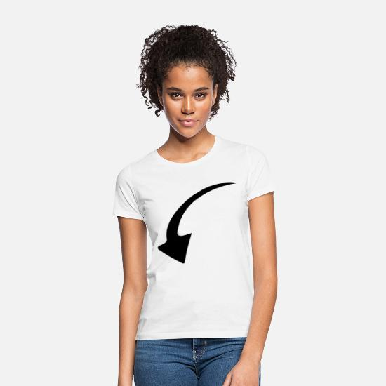 Love T-Shirts - Arrow - arrow - Women's T-Shirt white