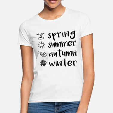 Seasonal Seasons - Women's T-Shirt
