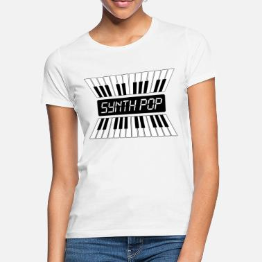 Pop Music SYNTH-POP MUSIC (2) - Vrouwen T-shirt