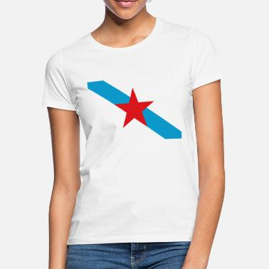 Nationalistisch Nationalistische Flagge Estreleira Galiza - Frauen T-Shirt