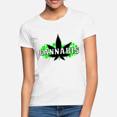 Smoking Weed - Gras - Smoke - Smoking - Frauen T-Shirt
