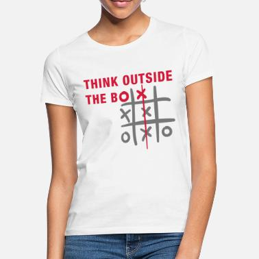 Think Think outside the box - Women's T-Shirt