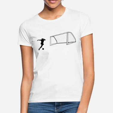 Shot On Goal Soccer shot on goal - Women's T-Shirt