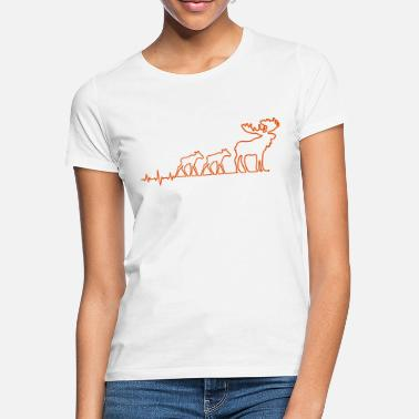 Moose moose moose - Women's T-Shirt