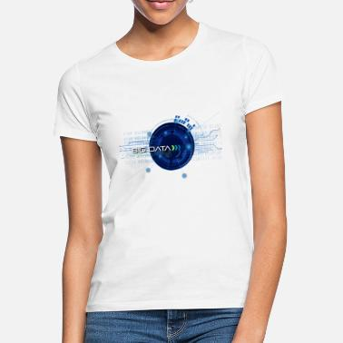 Technologie Big Data - Future - Technologie - T-shirt Femme