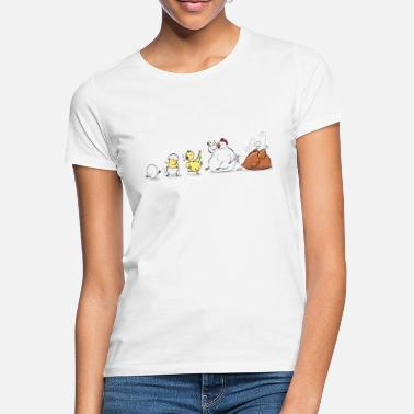 Evolution Evolution Of Chicken - Frauen T-Shirt