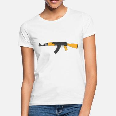 Machine Gun machine gun - Women's T-Shirt