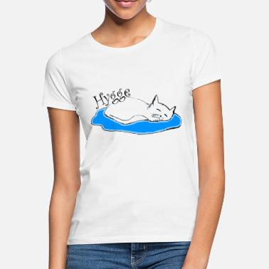 Hygge cat knows - Women's T-Shirt
