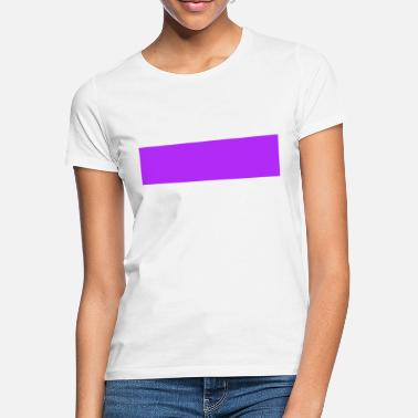 Purple bars - Women's T-Shirt