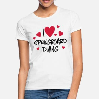 Diving diving - Women's T-Shirt